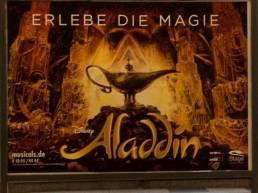 Orientalismus Aladdin Musicalwerbung