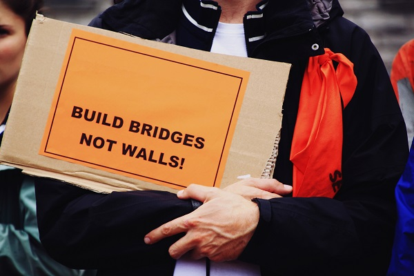 Seebrücke Build Bridges Not Walls
