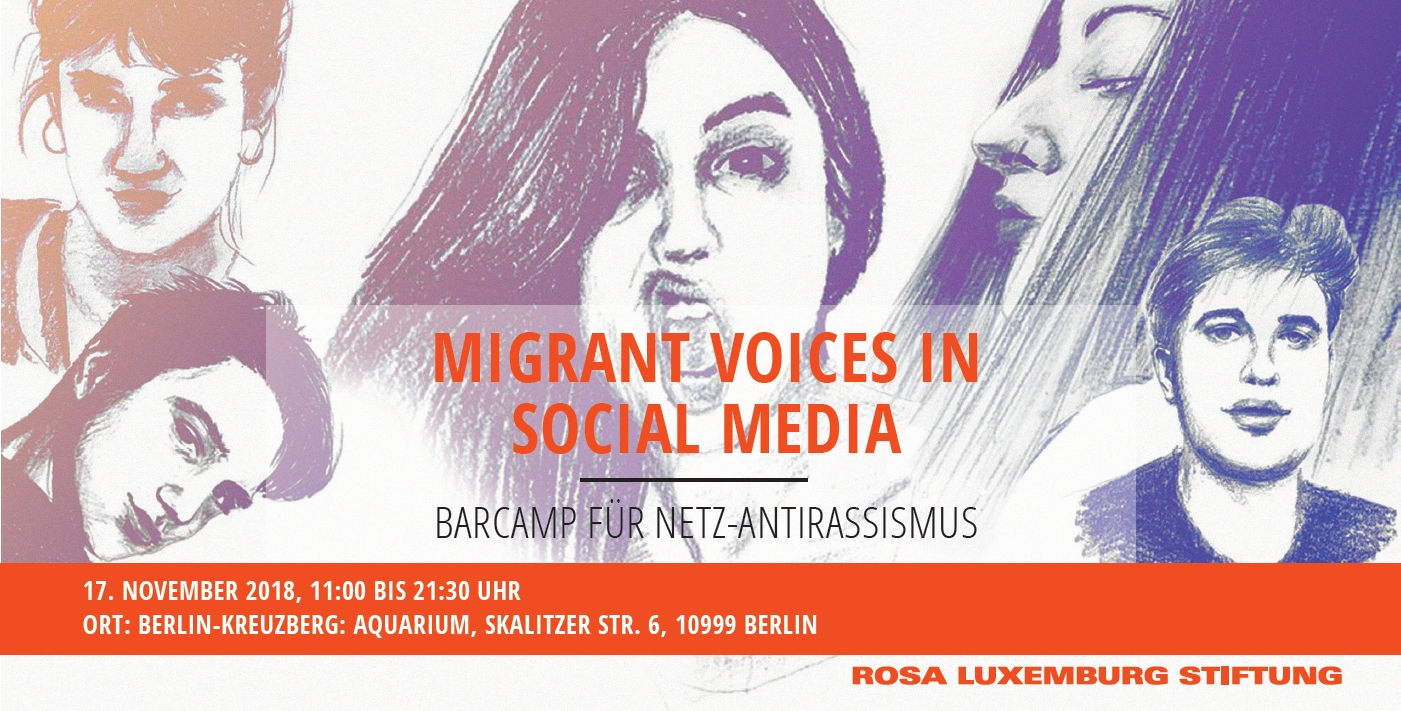 BarCamp für Netz-Antirassismus: Migrant Voices in Social Media