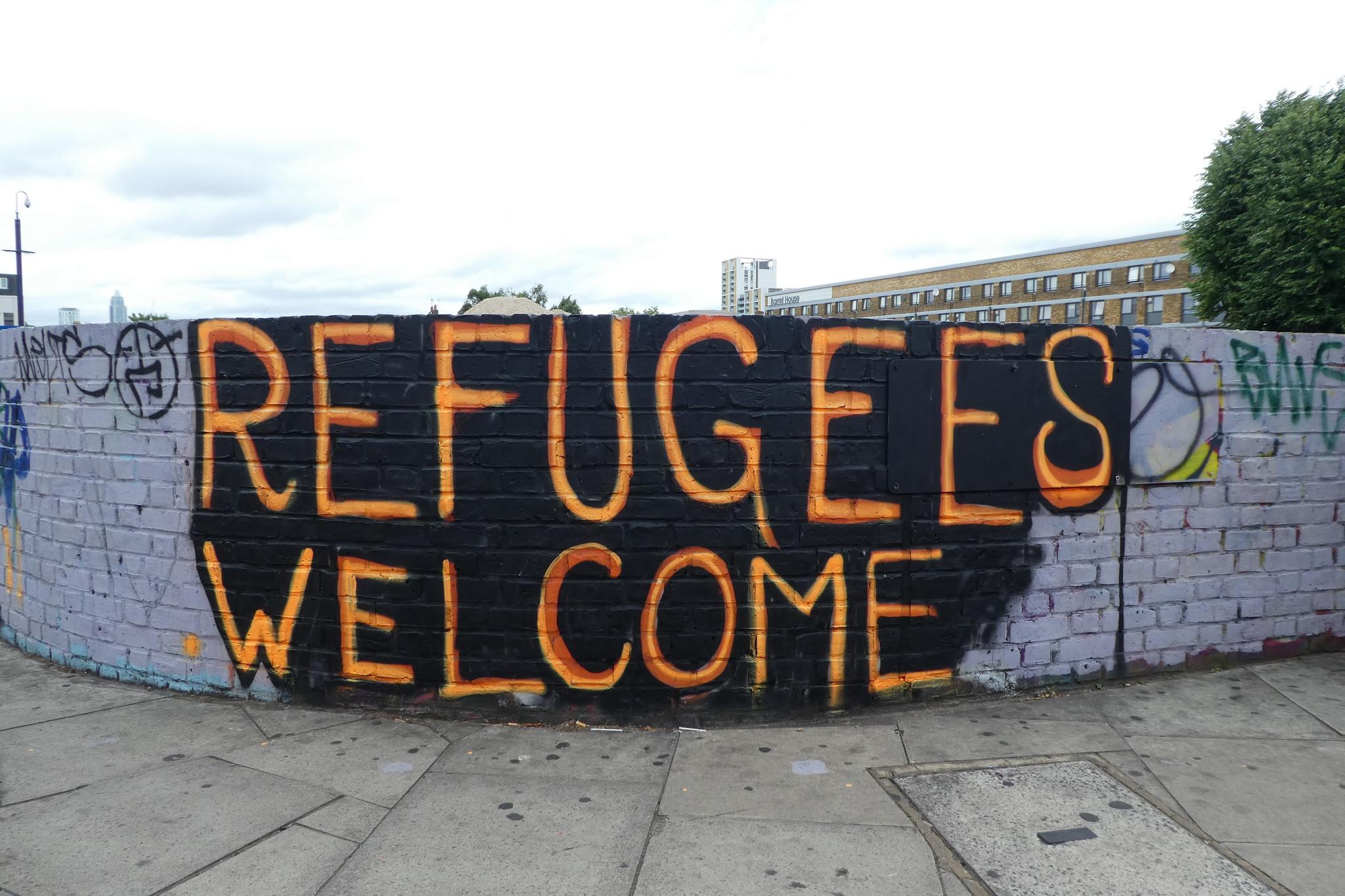 """Flüchtlingshilfe""?"