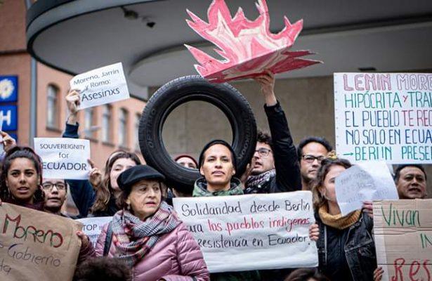 Internationale Solidarität für Ecuadors Massenaufstand