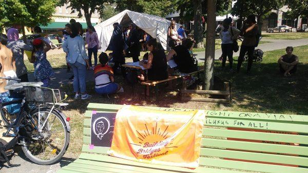 Geflüchtete Frauen organisieren das Festival