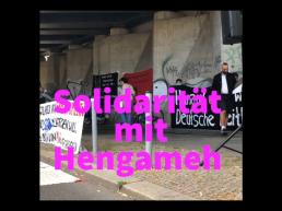Solidarität mit Hengameh